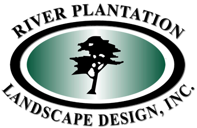 River Plantation Landscape Design Logo