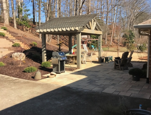 Custom Pavilion Build and Paver Patio Roswell, GA